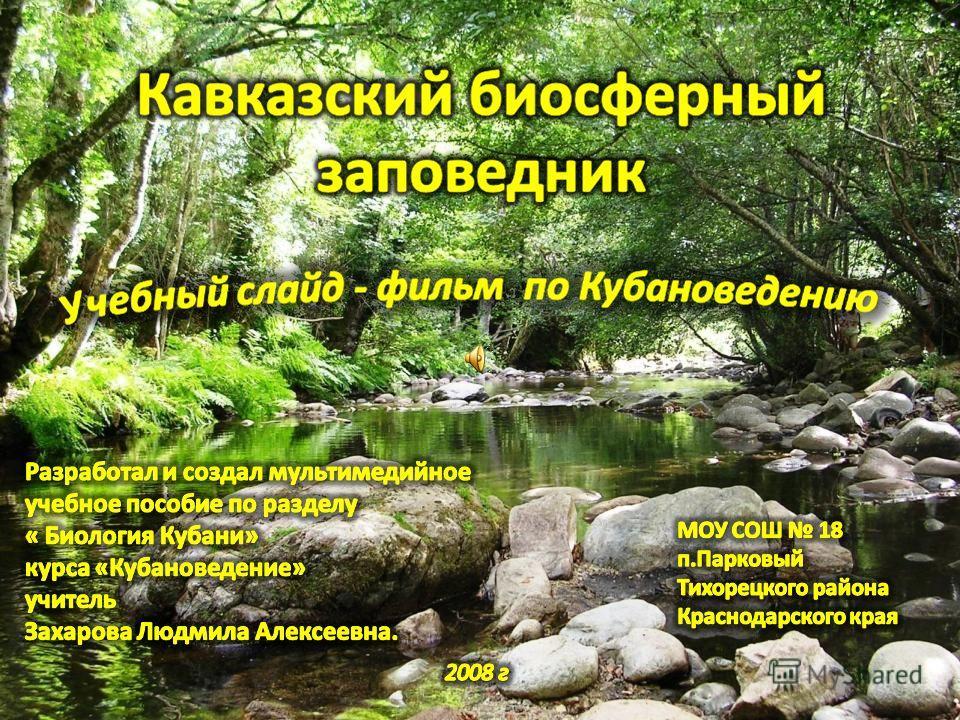 Кавказский государственный