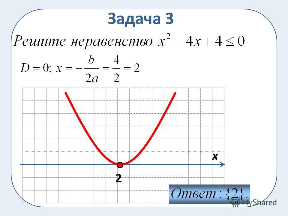 Задача 3 2 x