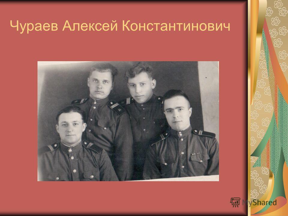 Чураев Алексей Константинович