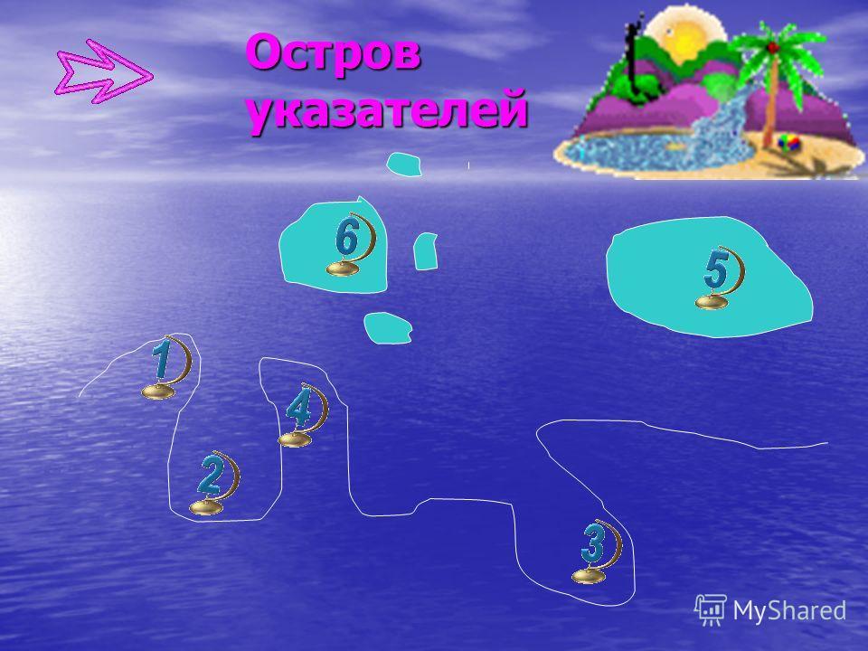 Остров указателей