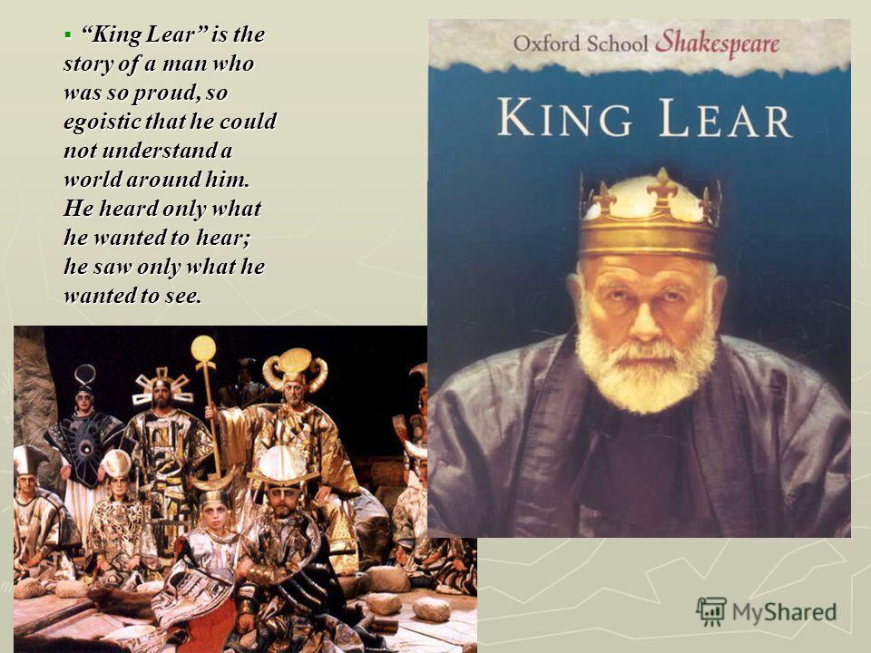 an analysis of the role of the fool in king lear a play by william shakespeare Everything you need to know about the setting of william shakespeare's king lear,  king lear / analysis /  (but there are some christian themes in the play.