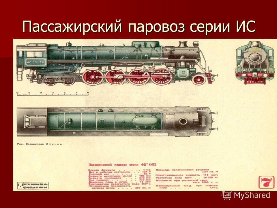 Пассажирский паровоз серии ИС