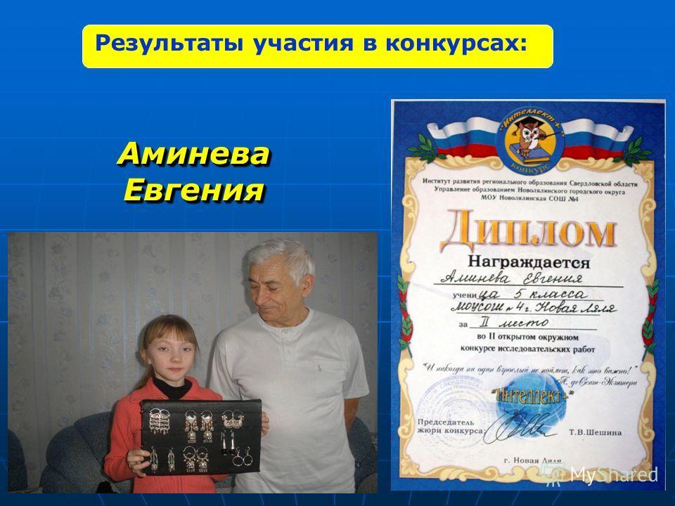Аминева Евгения