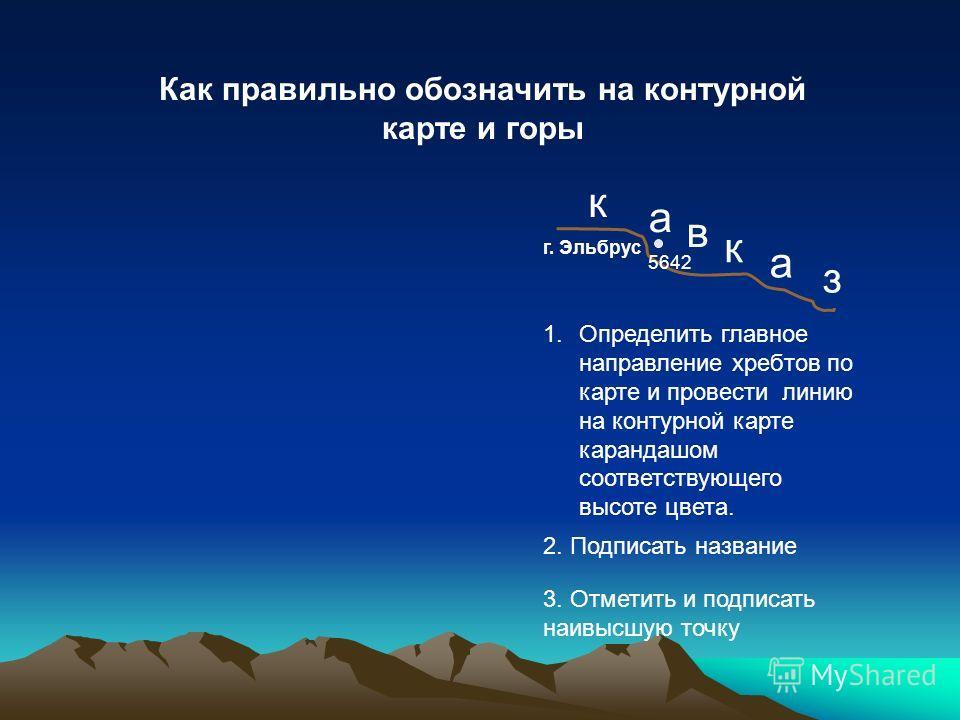 Европа 1. Средняя часть Уральских гор 1