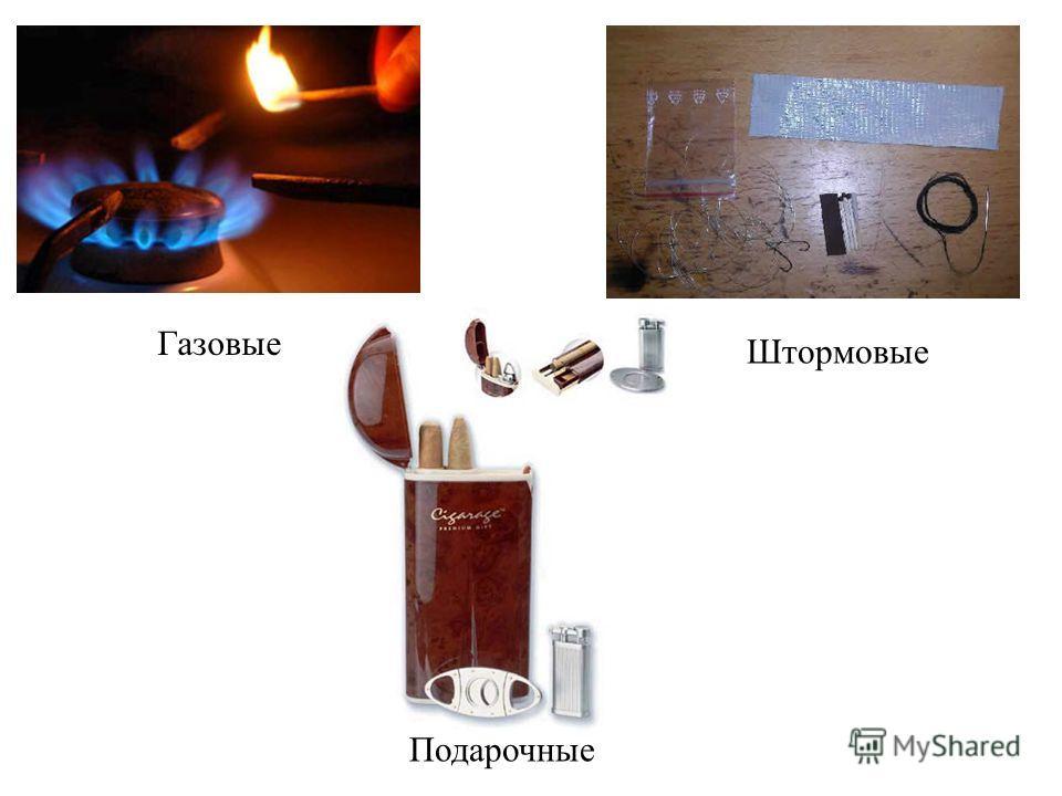 Газовые Штормовые Подарочные
