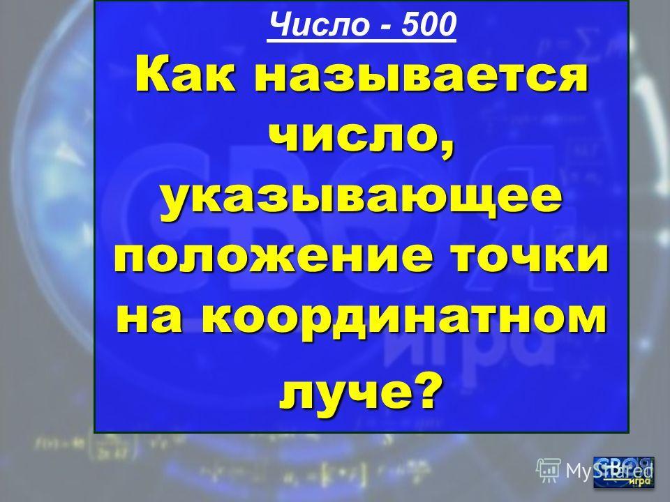 Число - 400 Назовите самое маленькое семизначное число.