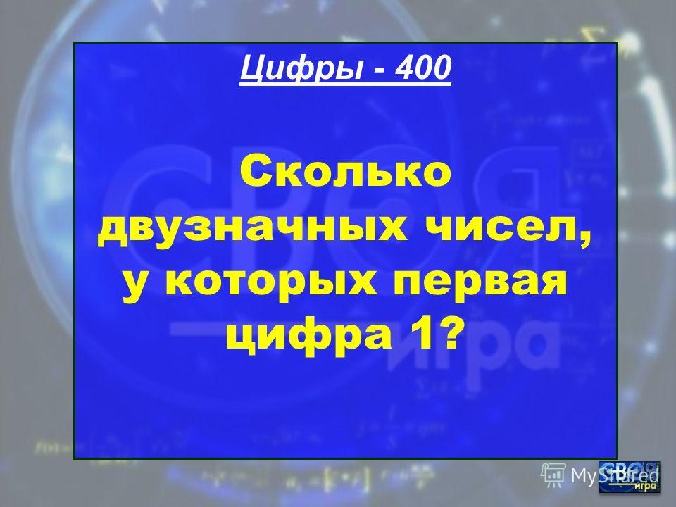 Цифры - 300 Цифра, на которую делятся все числа без остатка?