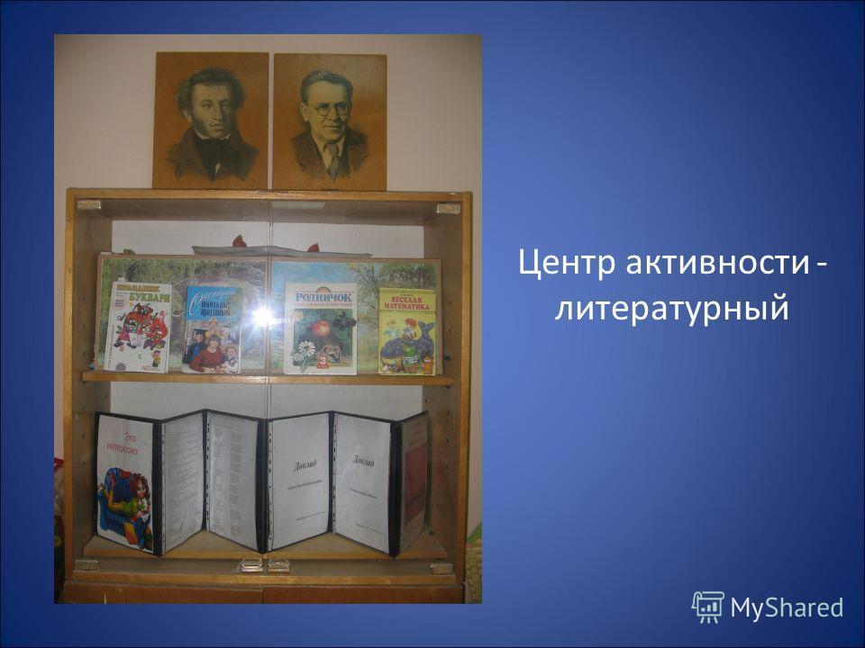 Центр активности - литературный