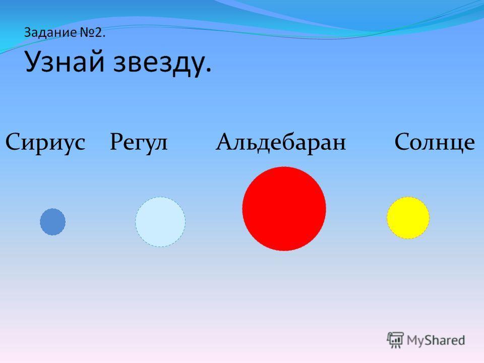 Сириус Регул Альдебаран Солнце
