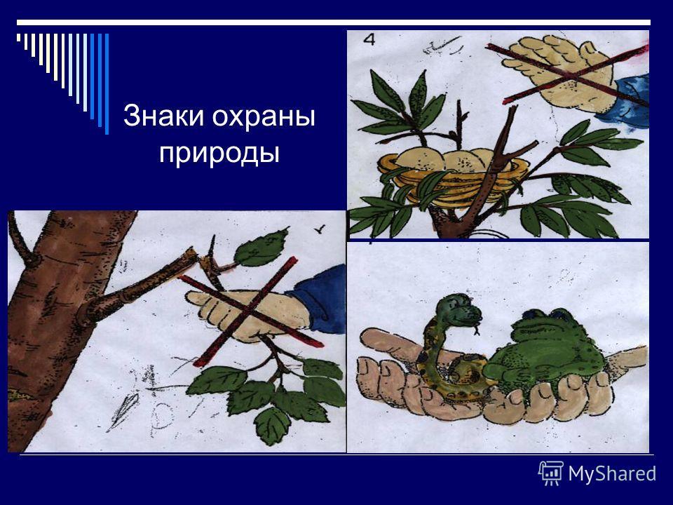 Знаки охраны природы
