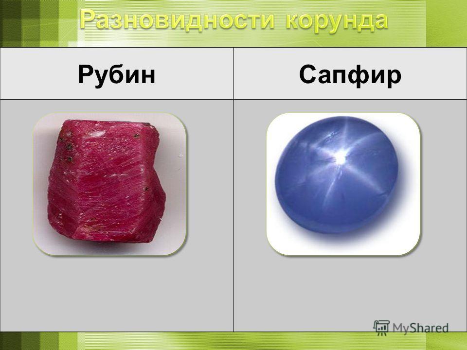 РубинСапфир
