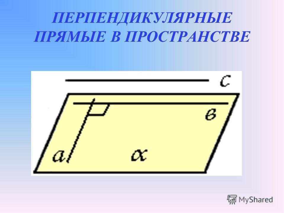 4 Взаимное расположение двух прямых в пространстве 1. а в с d n k m m