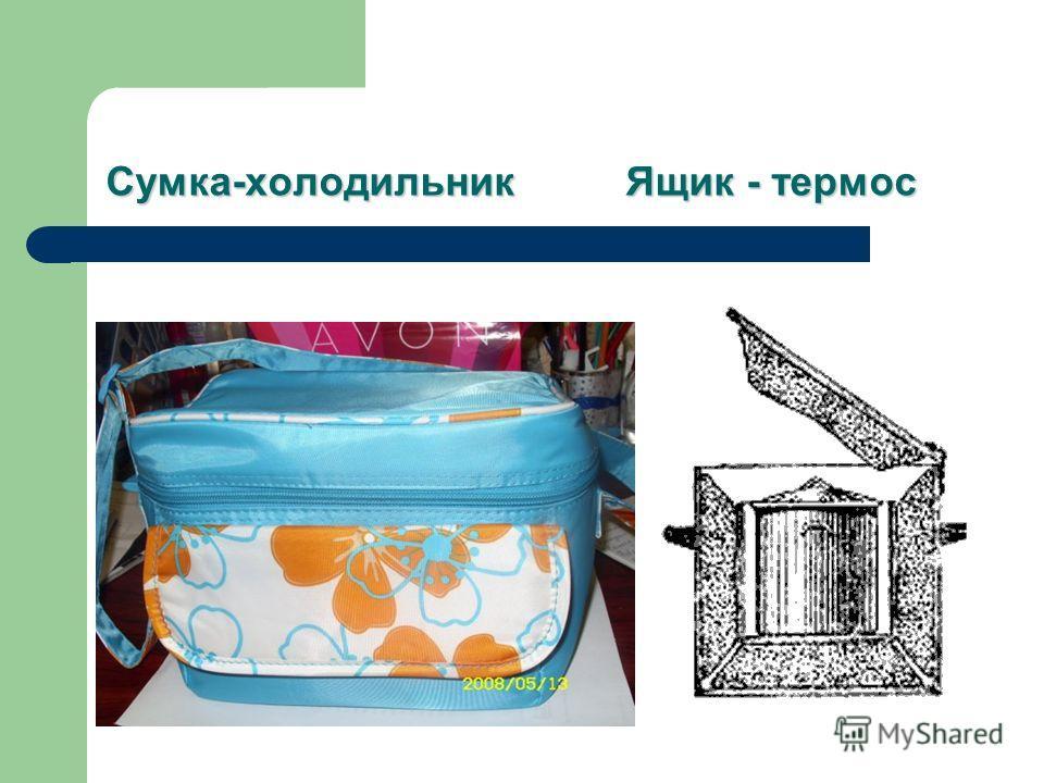 Сумка-холодильник Ящик - термос