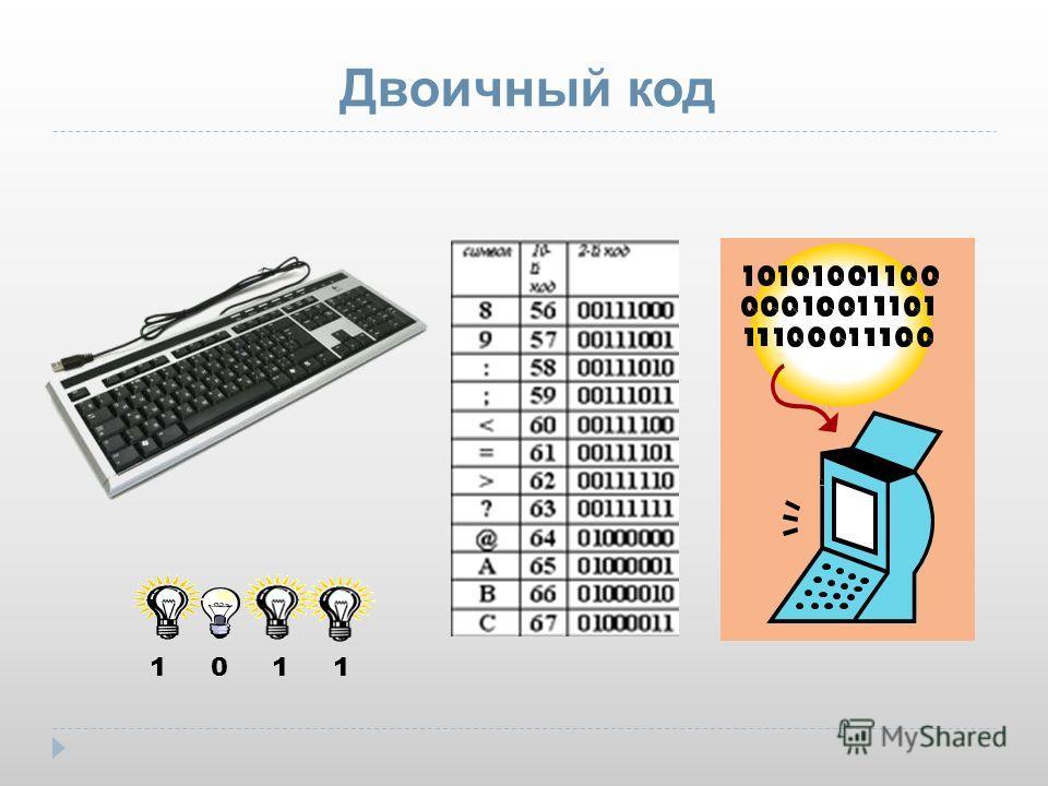 Двоичный код 1 0 1 1