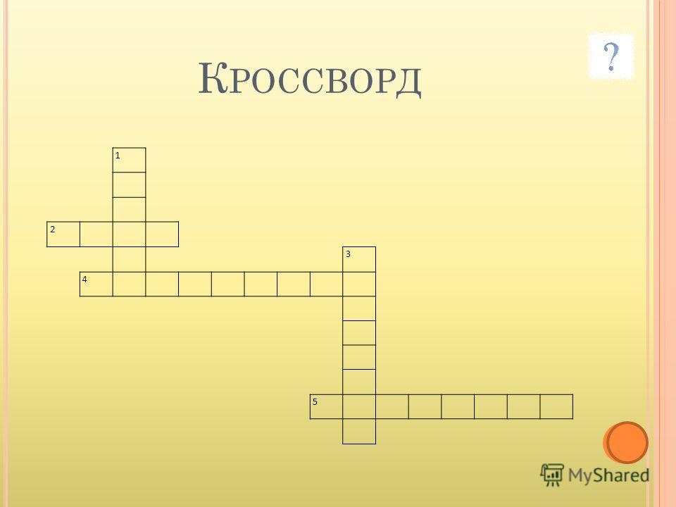 К РОССВОРД 1 2 3 4 5