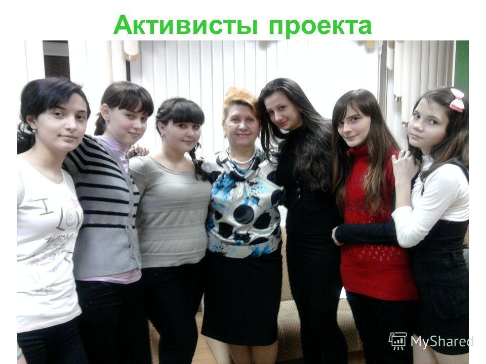 Активисты проекта