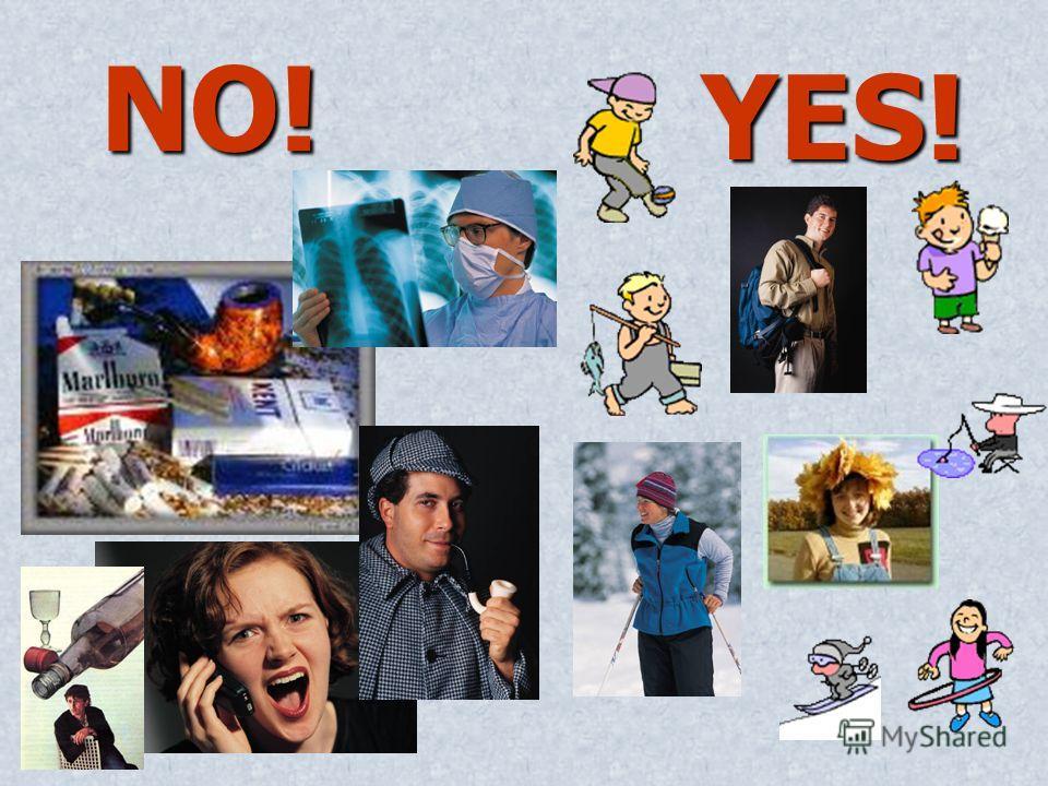 NO! NO! YES!