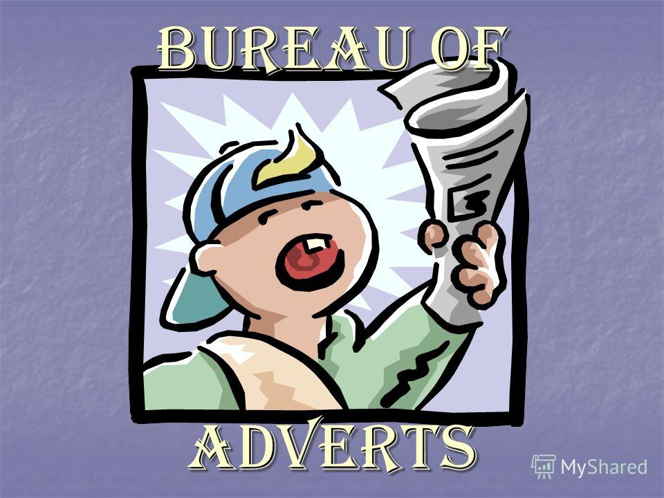 Bureau of adverts