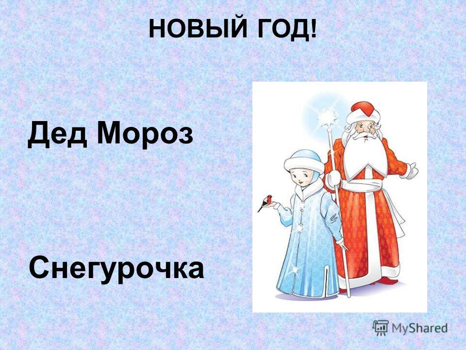 НОВЫЙ ГОД! Дед Мороз Снегурочка