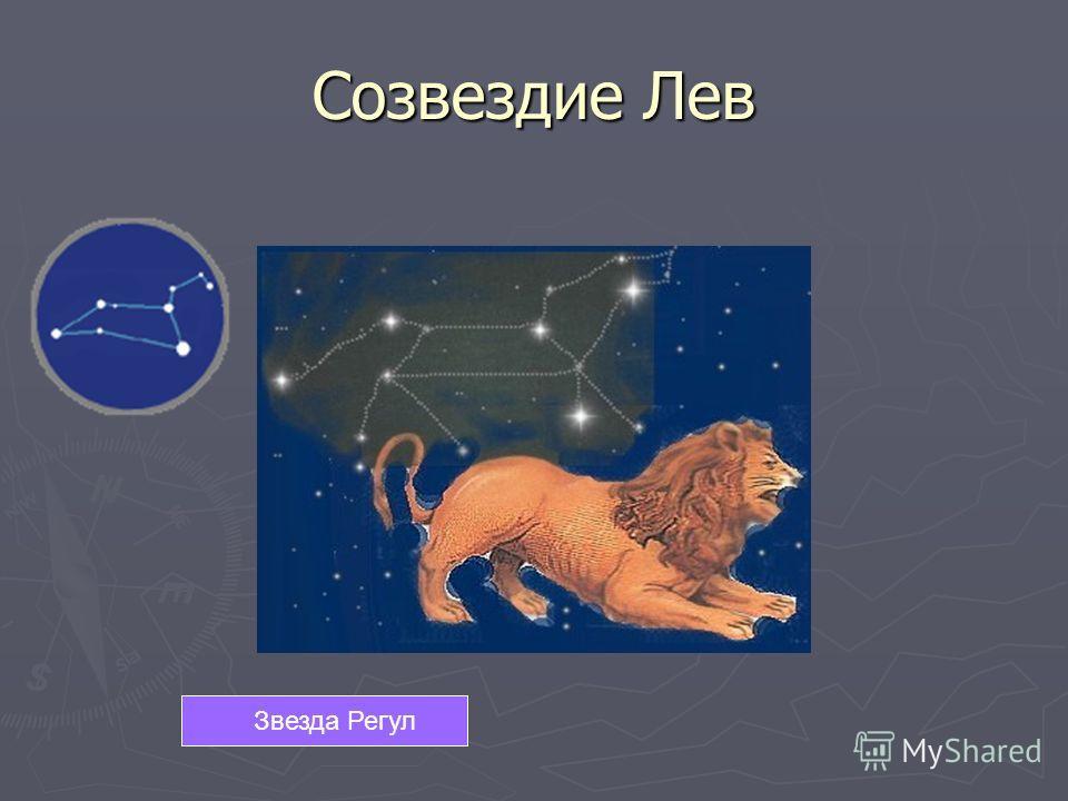 Звезда Регул Созвездие Лев