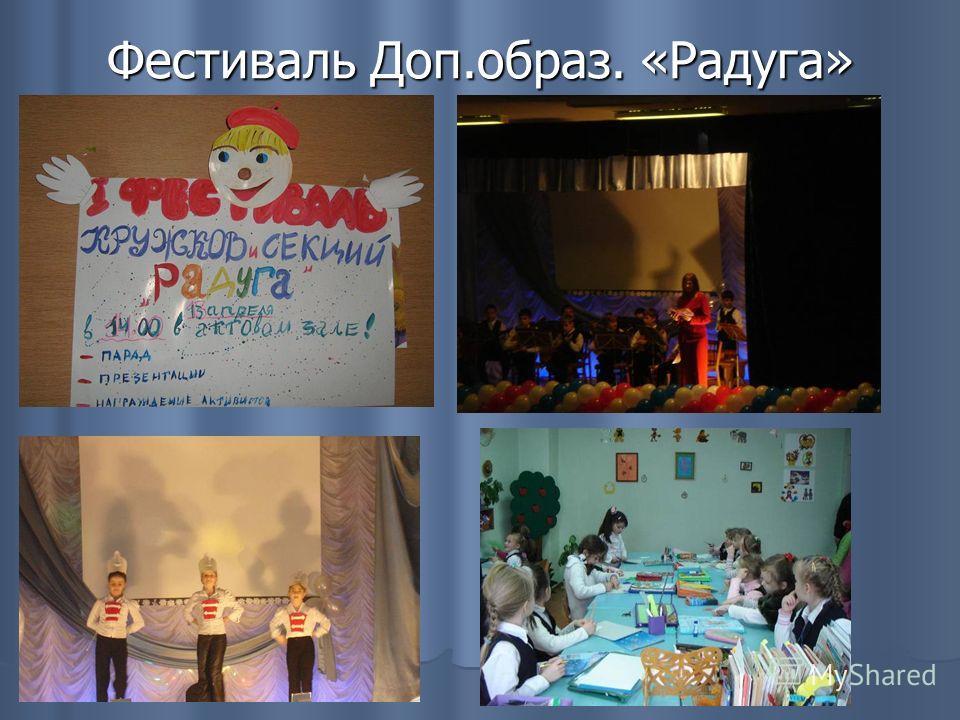Фестиваль Доп.образ. «Радуга»