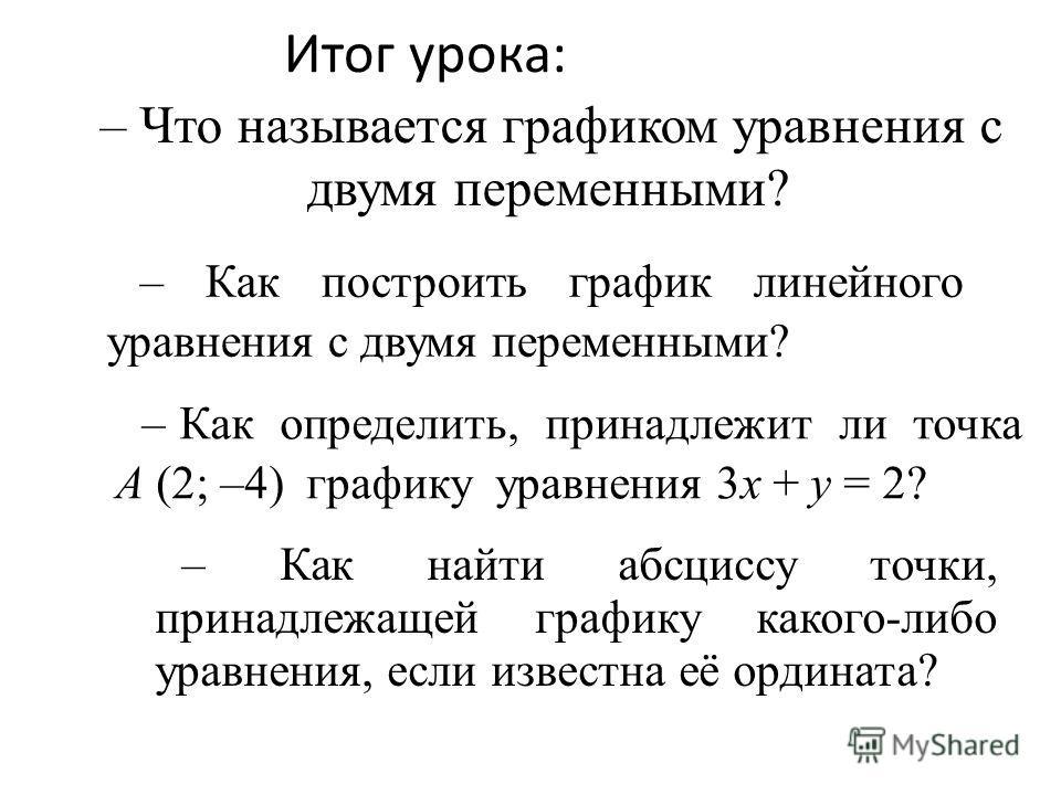 Прямая пропорцио- нальность Линейная функция График уравнения с двумя переменными График уравнения с двумя переменными