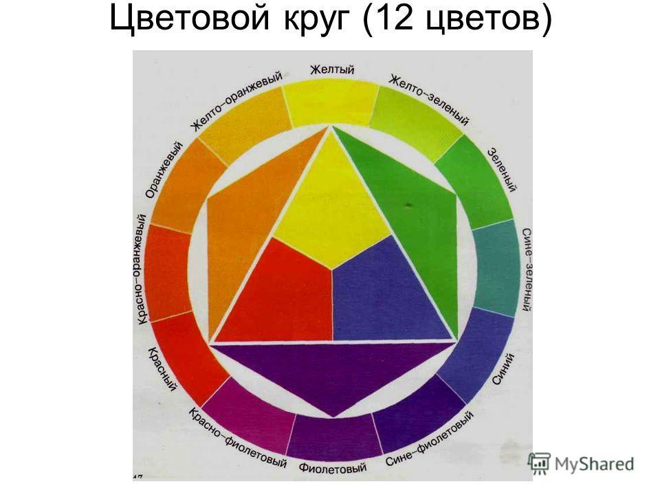 Цветовой круг (12 цветов)