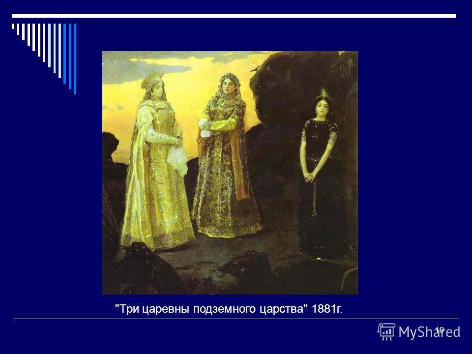 19 Три царевны подземного царства 1881г.