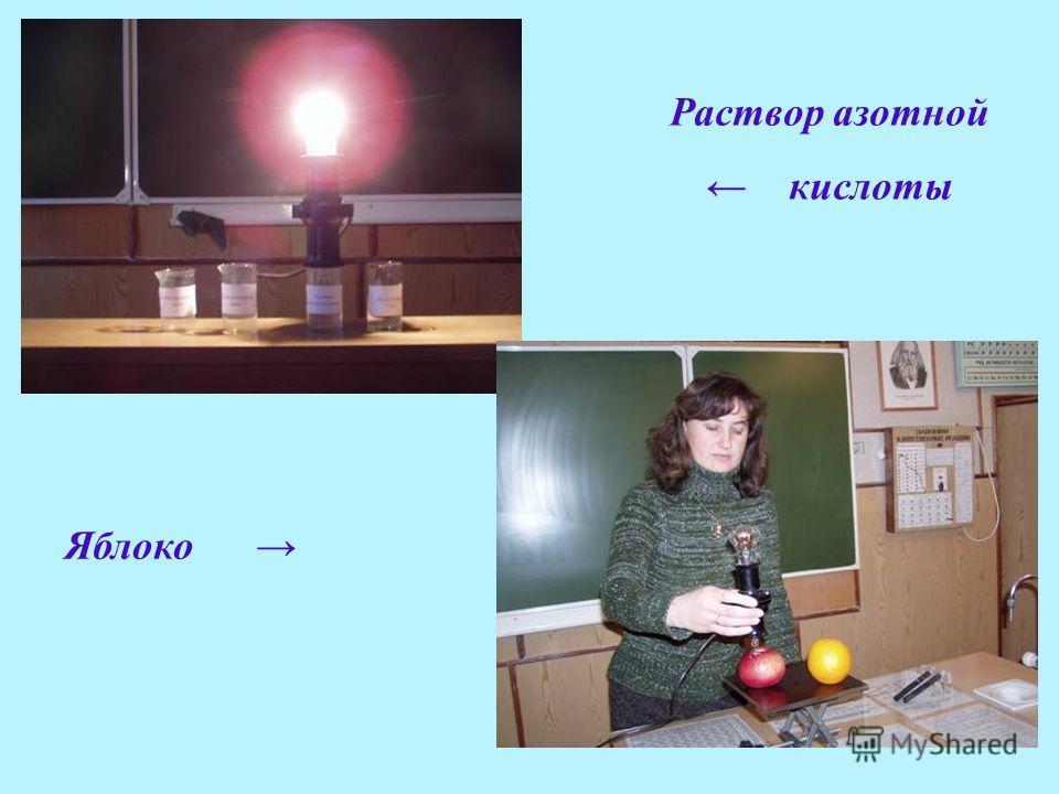 Раствор азотной кислоты Яблоко