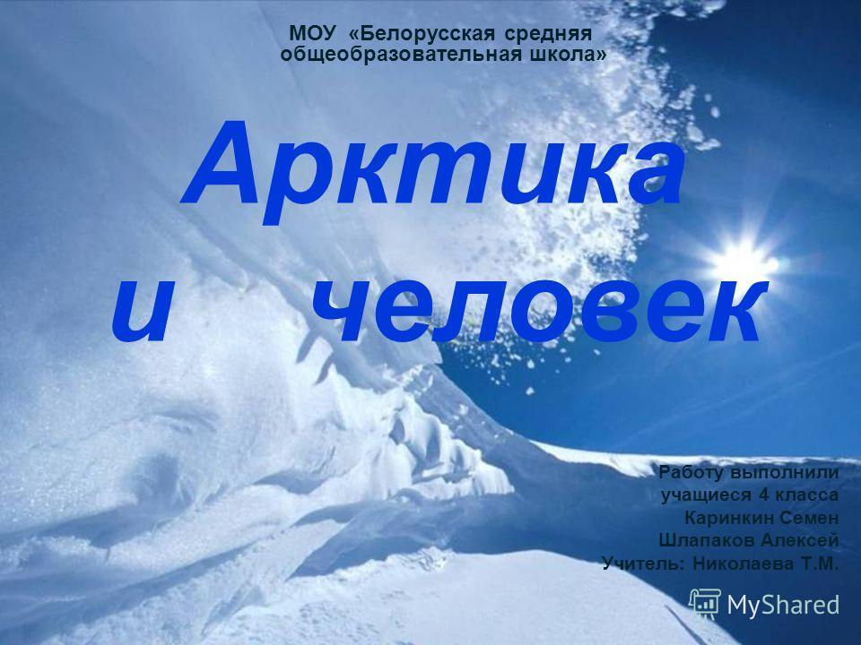 Доклад арктика 4 класс бесплатно