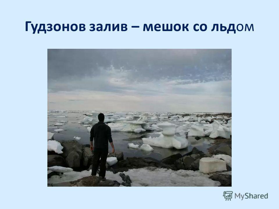 Гудзонов залив – мешок со льдом