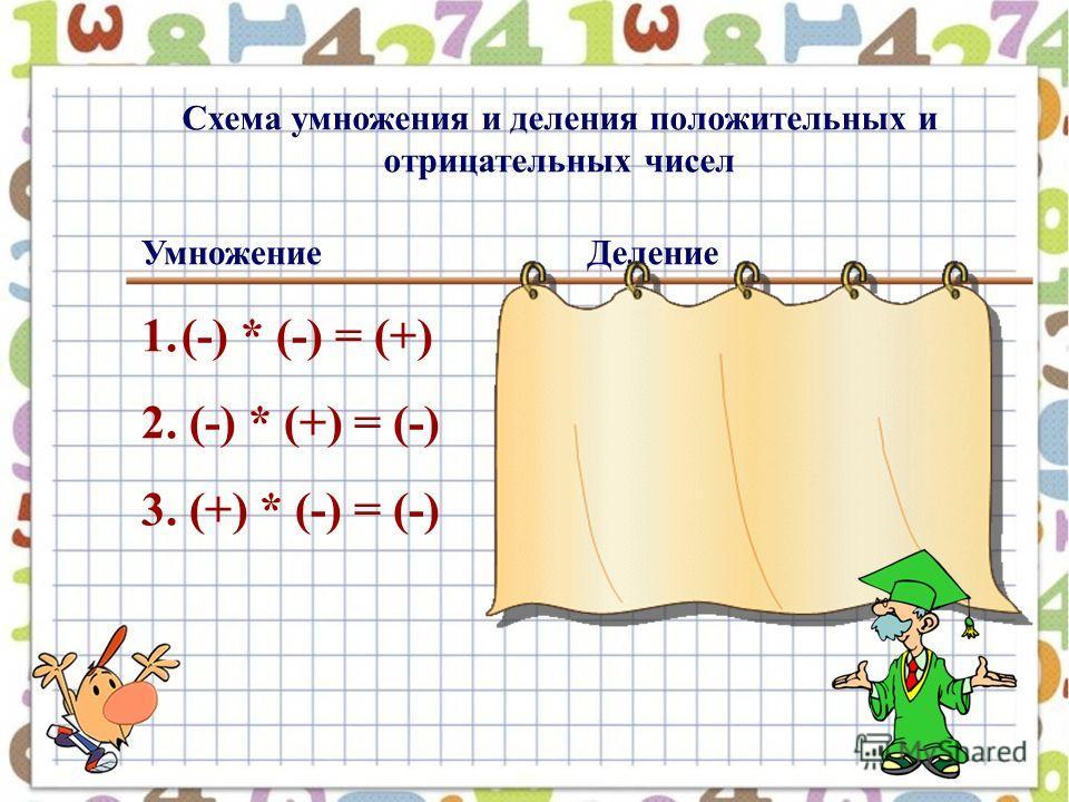 Схема умножения и деления