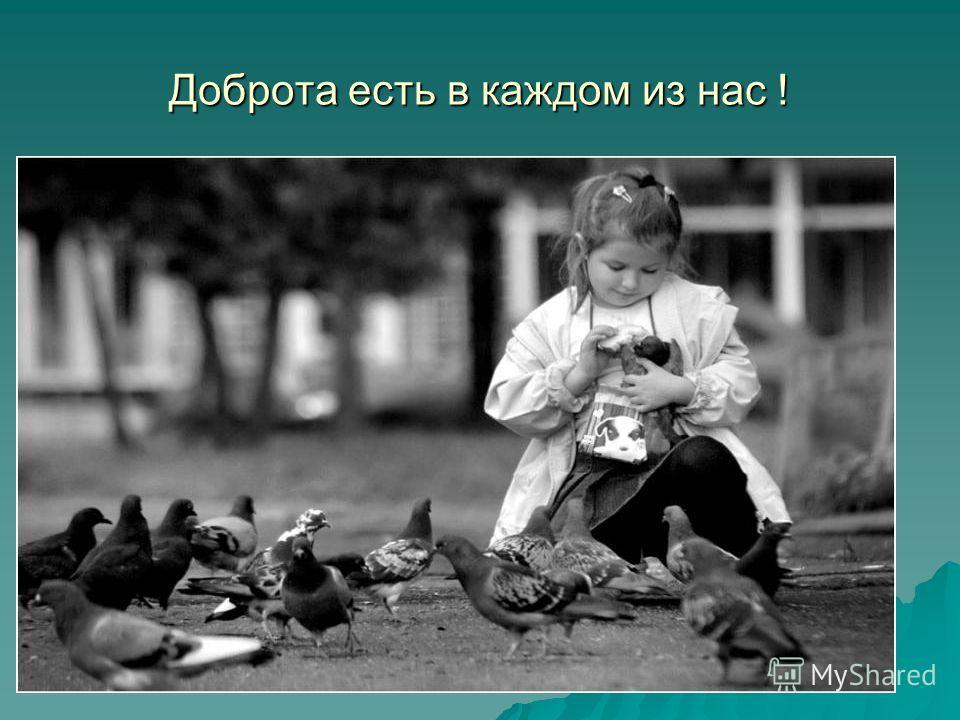 Что такое доброта ? Доброта – это то, что свершается добровольно, бескорыстно, для всеобщей пользы и для своей пользы, а не во вред себе.