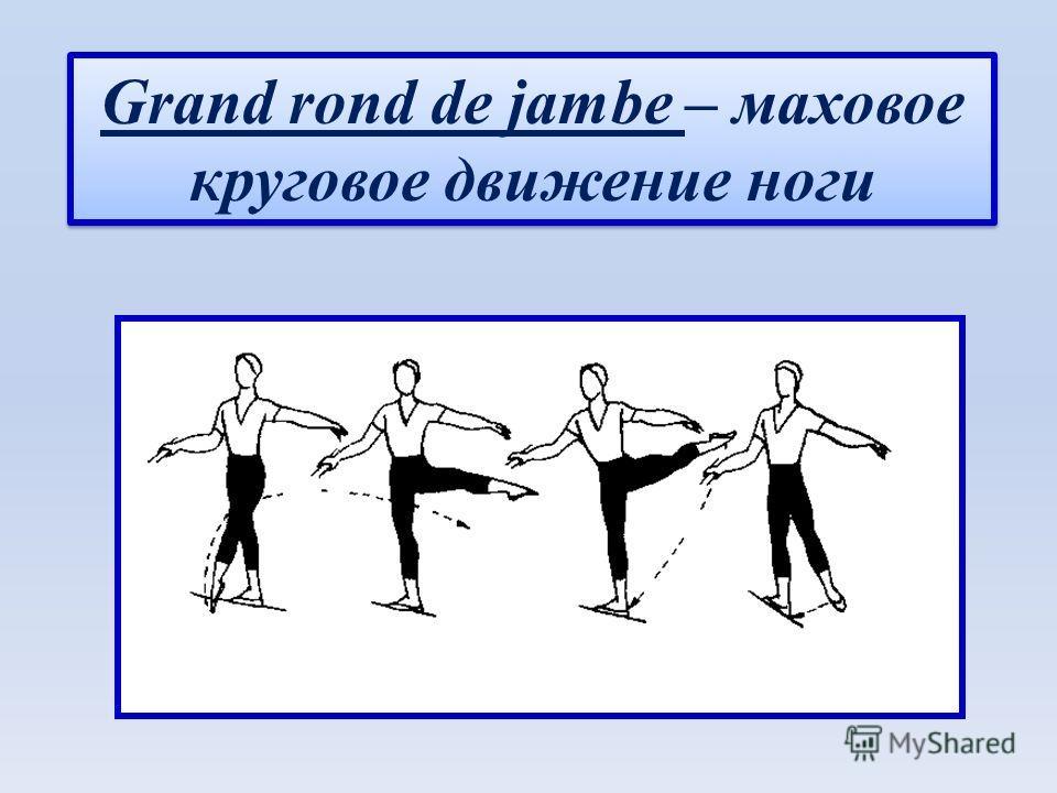 Grand rond de jambe – маховое круговое движение ноги