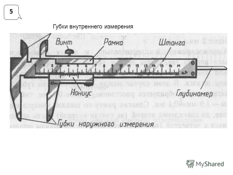 Губки внутреннего измерения 5