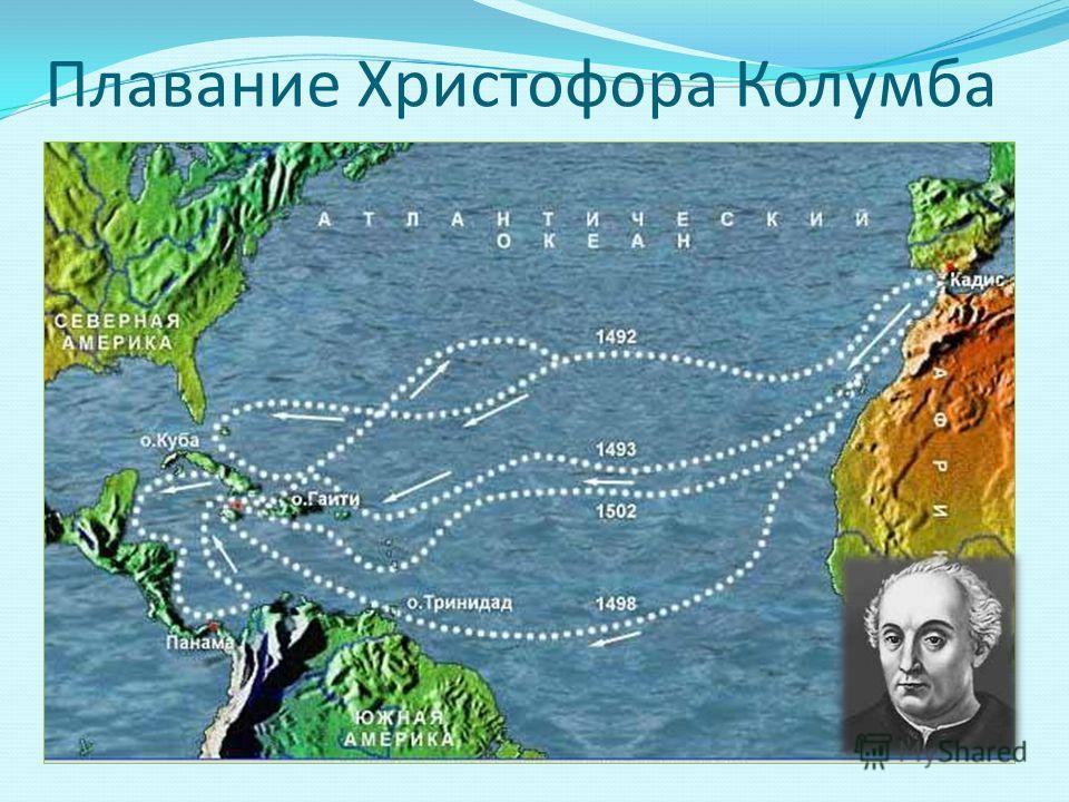 Плавание Христофора Колумба