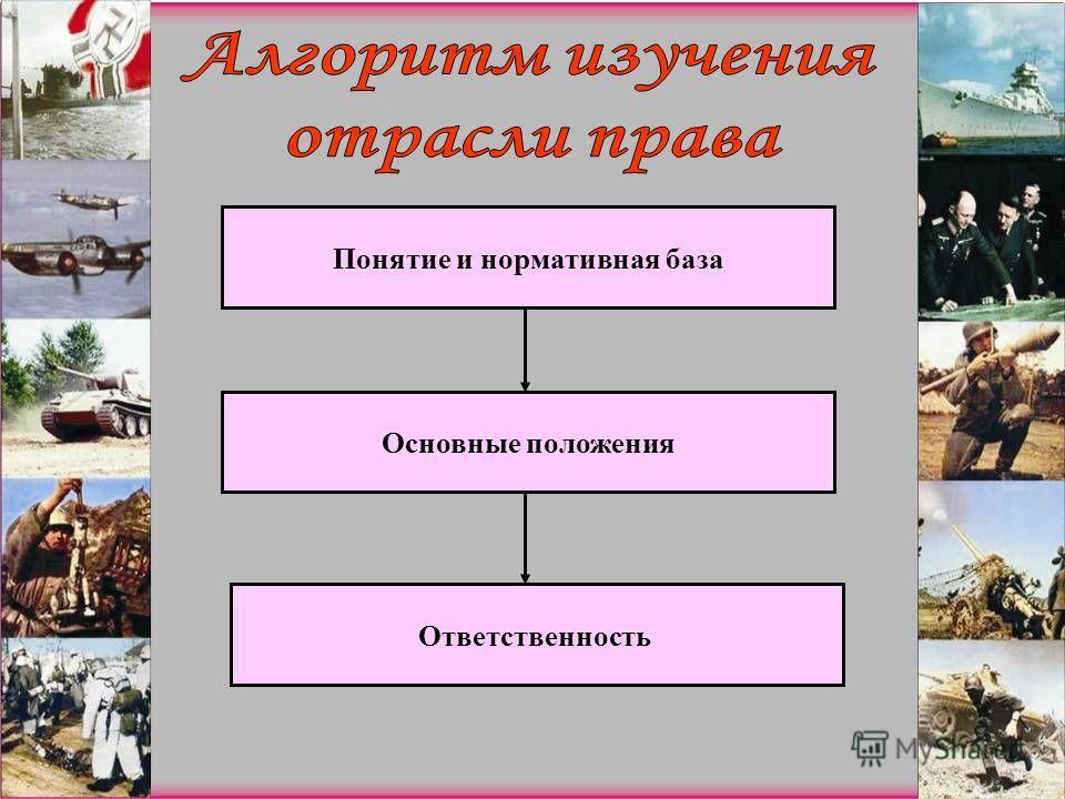 Понятие и нормативная база Основные положения Ответственность