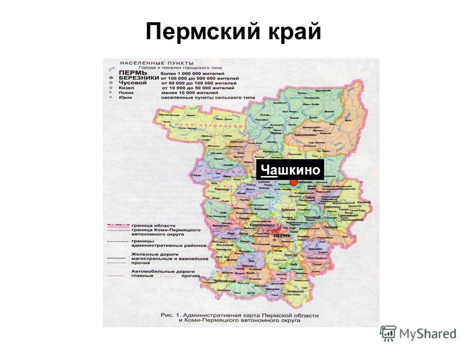 Чашкино Пермский край