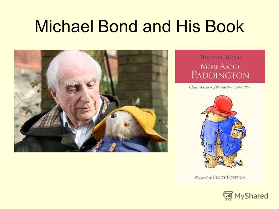 Michael Bond and His Book