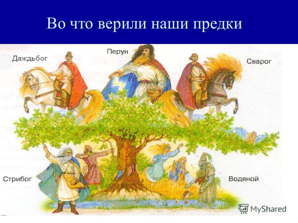 Во что верили наши предки