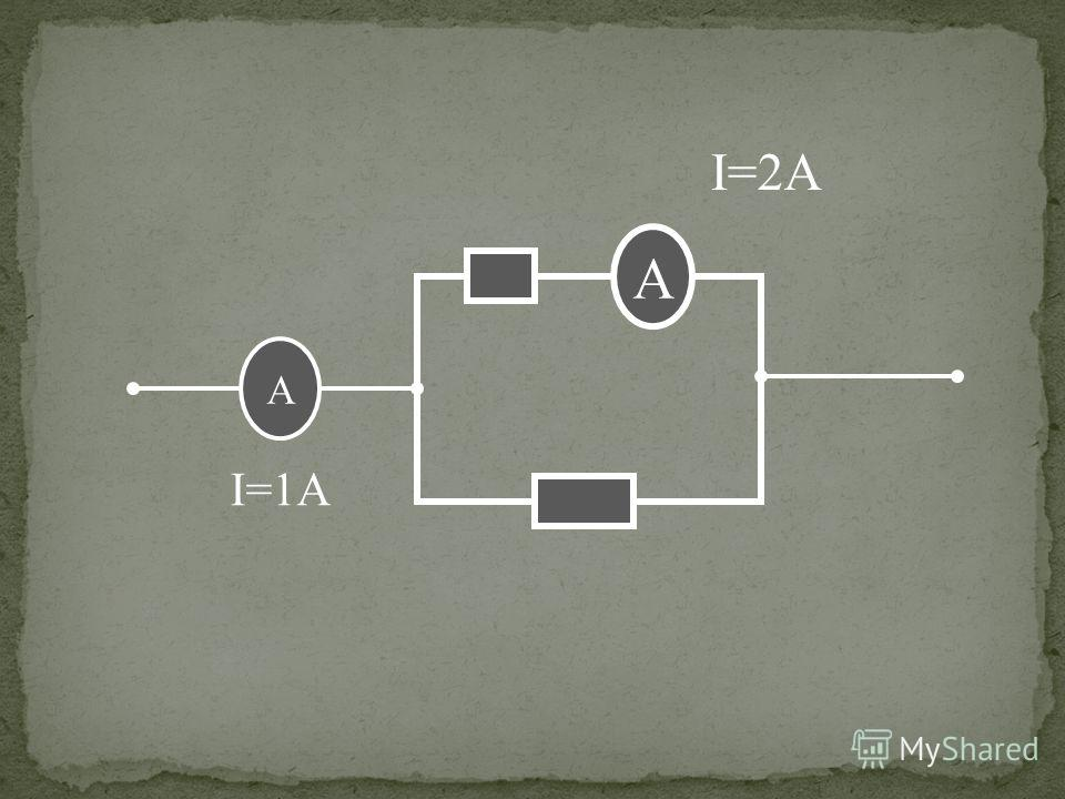 А I=1А I=2А А