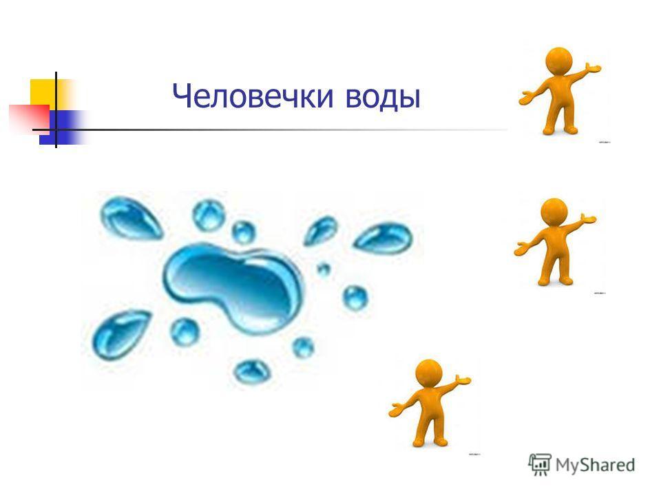 Человечки воды