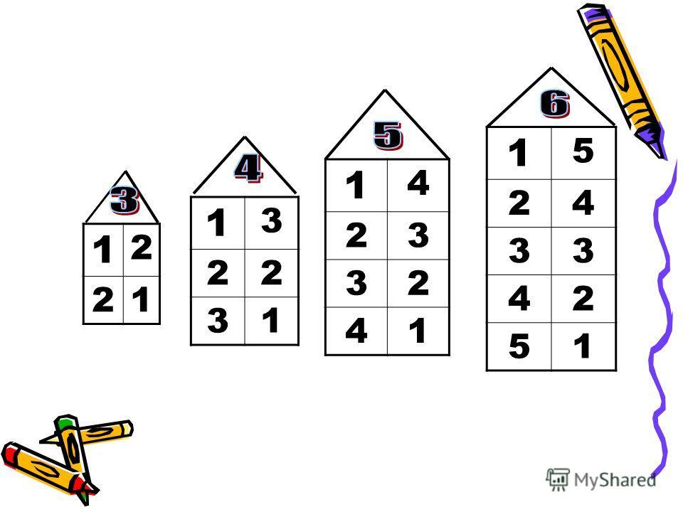 Способы вычисления: ЧИСЛОВОЙ ОТРЕЗОК СОСТАВ ЧИСЛА