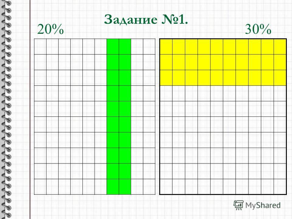 Задание 1. 20%30%