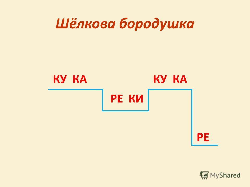Шёлкова бородушка КУ КА РЕ КИ РЕ
