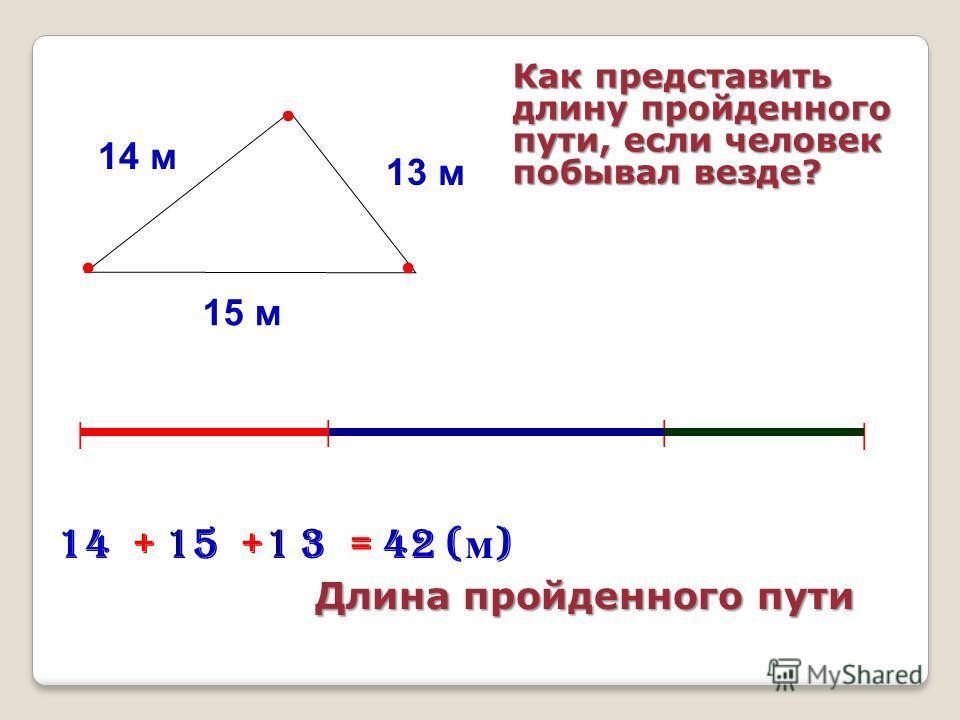 Д ШМ Найти длину маршрута: «Дом-школа-магазин»