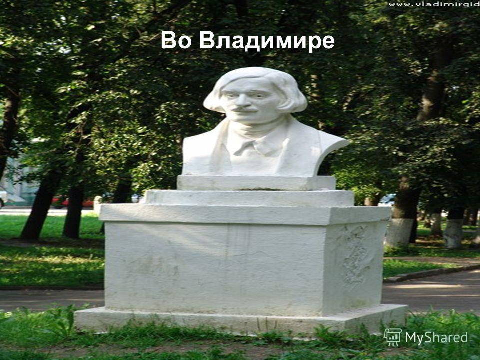 Во Владимире