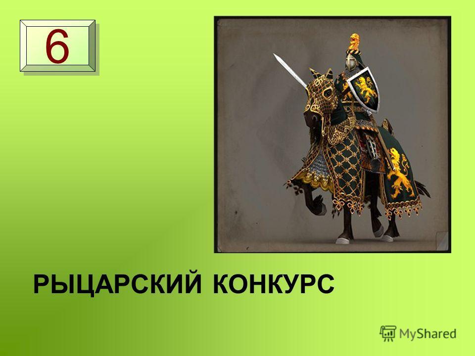РЫЦАРСКИЙ КОНКУРС 6 6