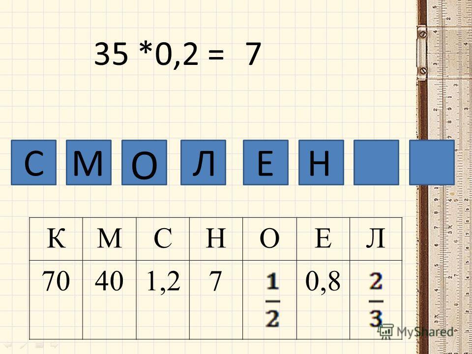 СМ КМСНОЕЛ 70401,270,8 О ЛЕ 35 *0,2 =7 Н
