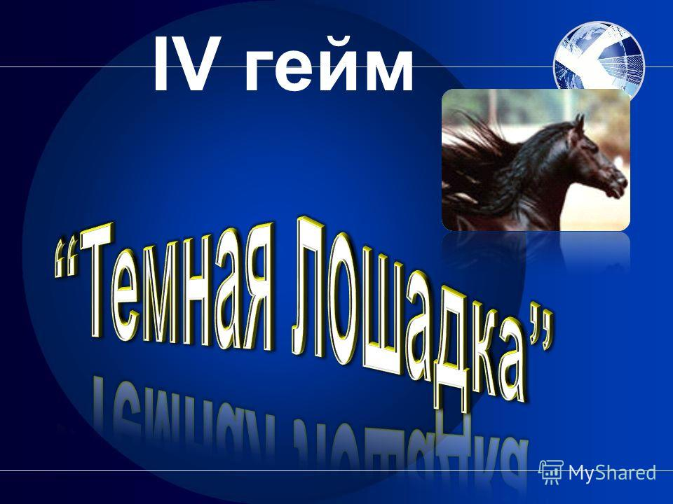 IV гейм
